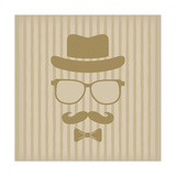 Hipster'S Hat  Glasses  Moustache