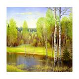 Autumn Landscape  Canvas  Oil