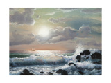 Sea Sunset  Oil Painting