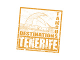 Tenerife Stamp