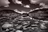 Glacial Lake And Rocks At National Park Pirin  Bulgaria