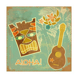Vintage Hawaiian Card