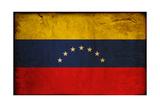 Vintage Flag Of Venezuela