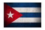 Grunge Flag Of Cuba
