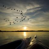 Kayaks On Lake Ontario Sunset