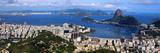 Panoramic View Of Rio De Janeiro  Brazil Landscape