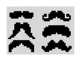 Pixel Moustache