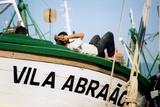 Fisherman Resting On His Boat  Angra Dos Reis  Brazil