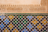Mosaic At The Alhambra  Granada  Spain