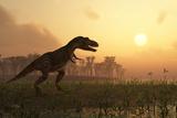 Dinosaur In Landscape