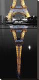 Eiffel At Night Tableau sur toile par AJ Messier
