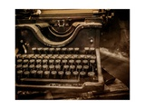 Old Rusty Typewriter Reproduction d'art par NejroN Photo