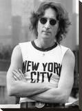 John Lennon (NYC - Bob Gruen) Tableau sur toile
