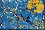 Blue Graffiti Bike