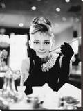 Audrey Hepburn -Breakfast at Tiffanys B&W