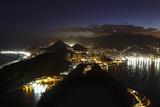 Night Panoramic View Of Rio De Janeiro