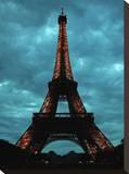 Eiffel Tower 2 Tableau sur toile par Brian Little