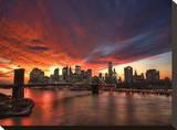 Manhattan Glow Tableau sur toile par Dale MacMillan