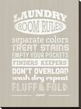 Laundry Room Rules I