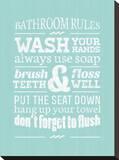 Bathroom Rules I