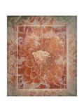 Vintage Rose On Dahlia
