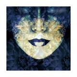 Dark Blue Dahlia