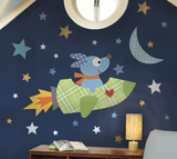 Rocketdog Peel & Stick Giant Wall Decal