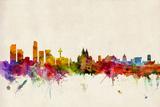 Liverpool England Skyline