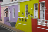 Colorful Houses  Bo-Kaap  Cape Town  South Africa