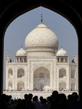 The Royal Gate  Taj Mahal  Agra  India