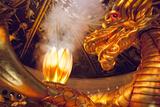 Wynn Hotel and Casino  Lobby 'Dragon Show'  Macau  China