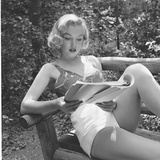 Marilyn Monroe in California Aluminium par Ed Clark