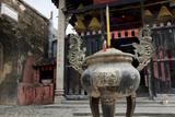 Dragon Incense Holder  Na Tcha Temple  Macau  China