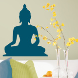 Indian Buddah Peel & Stick Giant Wall Decal