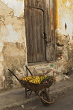 Bananas in Wheelbarrow  Havana  Cuba