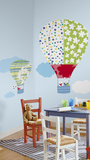 Hot Air Balloons Peel & Stick Giant Wall Decal