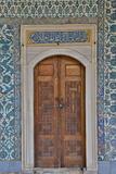 Beautiful Tile Work Inside the Harem Topkapi Palace  Istanbul  Turkey