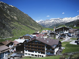 Obergurgl  Otztal Alps  Tyrol  Austria