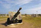 Canadian Artillery  Centre Juno Beach  Normandy  France