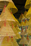 Conical Incense at A-Ma Temple  Macau  China
