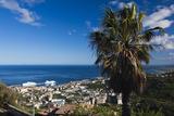 Elevated City View of Bastia  Le Cap Corse  Corsica  France