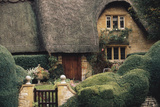 Thatched Roof Home and Garden  Chipping Campden  England