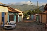 Early Morning View of Streets in Trinidad  Cuba
