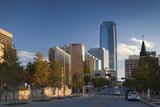 City Skyline  Oklahoma City  Oklahoma  USA