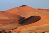 Sand Dune at Sossusvlei  Namib-Naukluft National Park  Namibia