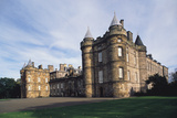 Palace of Holyroodhouse  Edinburgh  Lothian  Scotland