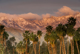 Jacinto and Santa Rosa Mountain Ranges  Palm Springs  California  USA