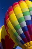 Hot Air Balloon Closeup  Albuquerque  New Mexico  USA