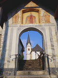 The Church at Maria Worth  Karnten  Austria