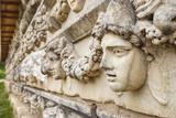 Stone Sculptures in Aphrodisias  Aydin  Turkey